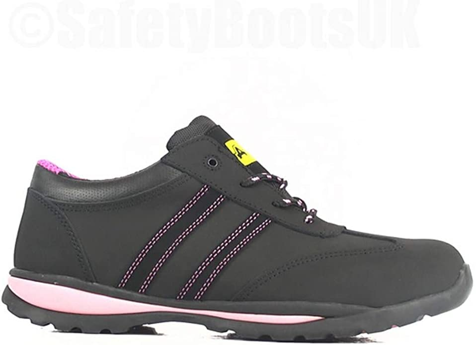 Details about  /Amblers Safety FS59C Womens Ladies S1 Safety Composite Toe Cap Trainers Black