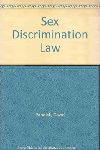 The law of sex discrimination book
