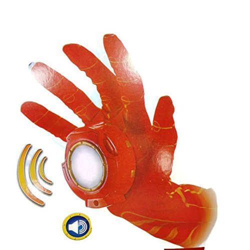 Marvel Ultimate Iron Man Hero FX Glove Set (Iron Man)