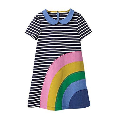 Baby Girls Dress Summer Unicorn Costume for Kids Clothing Animal Girls Clothes Princess Dress,42,ZT ()