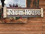 FARM HOUSE Farmhouse Wall Decor Sign Reclaimed Wood Pallet Style Shutter