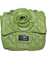 Mellow World Peony Quilted Convertible Chain Handbag