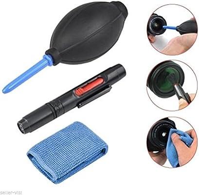 ledmomo 3 en 1 Cámara kit de limpieza paño de microfibra Fuelle ...
