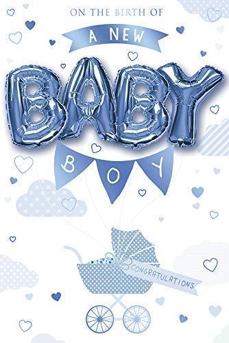 Tarjeta de felicitación con diseño de bebé recién nacido ...