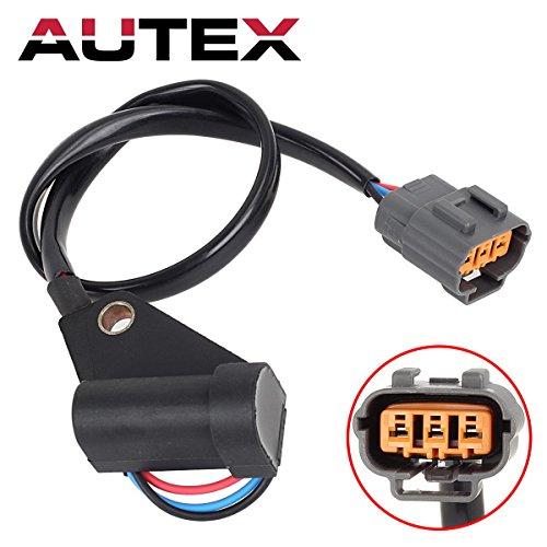 AUTEX Crank CrankShaft Position ZL0118221A J5T27072 PC390 ZL01-18-221 compatible with Mazda Miata 1999 2000 2001 2002 2003 2004 2005 ()
