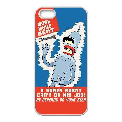 Affiche O4W34 Bender P3O7HI coque iPhone 4 téléphone cellulaire 4S de couverture de cas de coque blanche DF2EUD1RC
