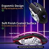 LENRUE Gaming Mouse Wired, Ergonomic Computer Mice