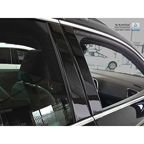Autostyle 1/46122 B de columnas Apertura Seat Ateca 2016 - Negro de Carbono, Black: Amazon.es: Coche y moto