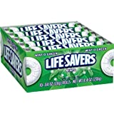 LifeSavers Wint-O-Green Mints, 0.84-Ounce Rolls (Pack of 20)