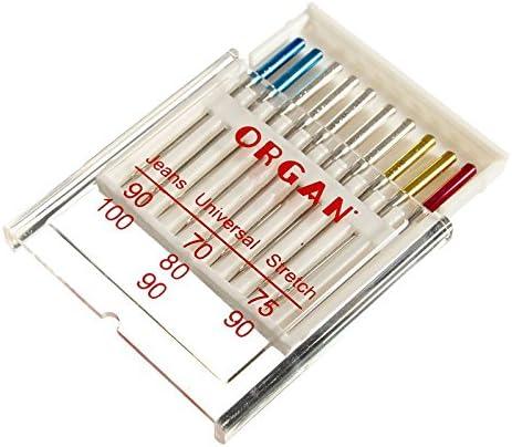 M/áquina de coser agujas de surtido 130//705/JERSEY universal piel
