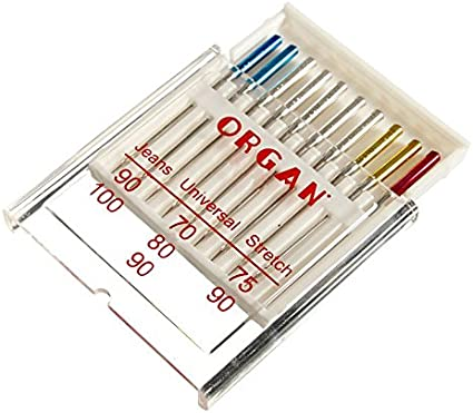Organe Jeans UNIVERSAL STRETCH Machine à Coudre Aiguilles #C0ME