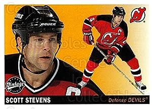 (CI) Scott Stevens Hockey Card 2002-03 UD Vintage (base) 148 Scott Stevens