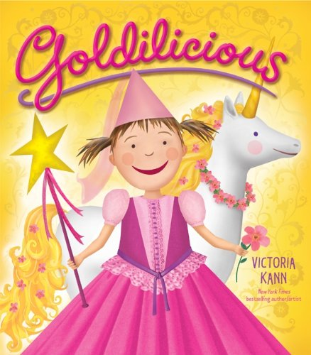 Goldilicious (Pinkalicious) (Activity Scholastic Storybook)