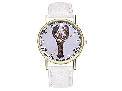 YIIO Reloj Exquisito Reloj de Cuero Estilo Vintage para Mujer Reloj de Mujer Regalo de Boda