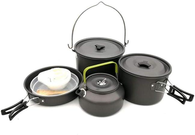 Equipo de cocina de aluminio, utensilios de cocina, kit de ...