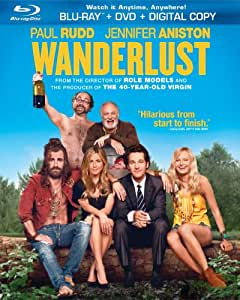 Wanderlust (Blu-ray + DVD + Digital Copy + UltraViolet)