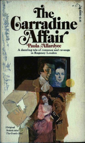 book cover of The Carradine Affair