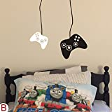 MoharWall XBox Video Gamer Wall Decal Game Boy Room Sticker Nursery PS2 PS3 PS4 Controller Decor