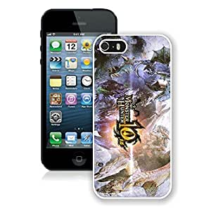 Monster Hunter White iPhone 5s Phone Case Genuine Custom Cover