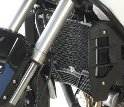 R&G(アールアンドジー) ラジエターガード ブラック DUAL CLUTCH モデル専用 CROSSTOURER [クロスツアラー](12-) RG-RAD0122BK   B008EOIS4E