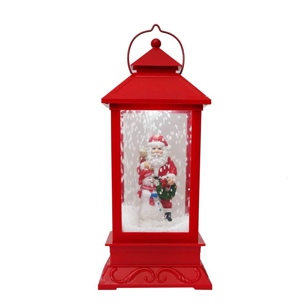 メリークリスマス、コカルロマンチックで美しいオルゴールライト、水球オルゴール マルチカラー B07HB1WK9T A