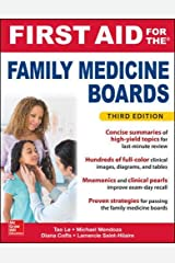 First Aid for the Family Medicine Boards, Third Edition (1st Aid for the Family Medicine Boards) Paperback