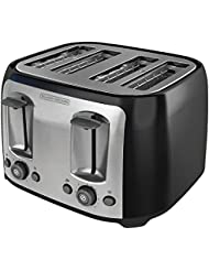 Black & Decker TR1478BD 4-Slice Toaster,