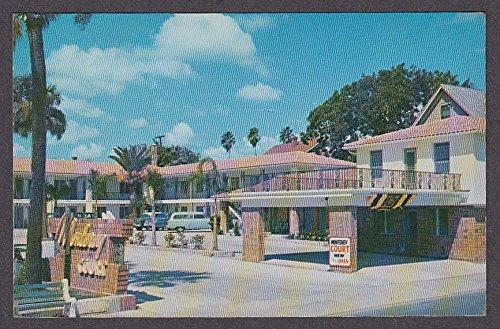 Monterey Court 16 Bay St Augustine FL postcard 1950s