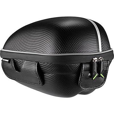 HITSAN ROCKBROS Cycling Shelves Package Saddle Bag Bicycle Tail Bag Mountain Bike Pack Hard Shell Bike Bag One Piece