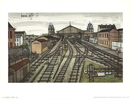 Bernard Buffet-La Gare-Poster