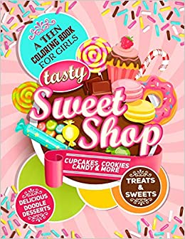 Candies and sweets coloring pages- cute! - AnimationsA2Z | 336x260