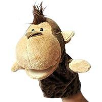 Labellevie Marionetas de mano Mini Muñeca de la Felpa Animales de Juguete Juegos del Bebé Mono