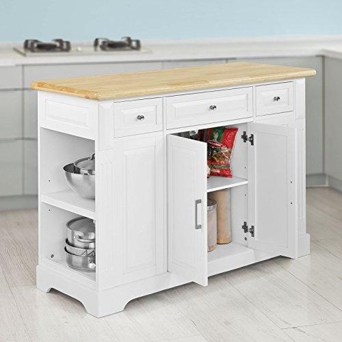 sobuy luxus k chenwagen k chenschrank servierwagen kommode sideboard fkw42. Black Bedroom Furniture Sets. Home Design Ideas