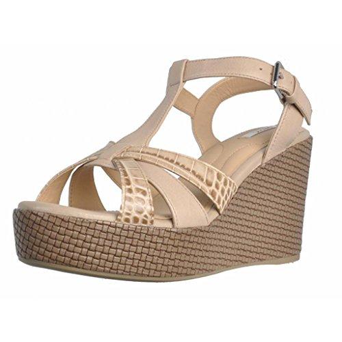 GEOX Sandalias y chanclas para mujer, color Hueso, marca, modelo Sandalias Y Chanclas Para Mujer CAPRI II 5 Hueso Hueso