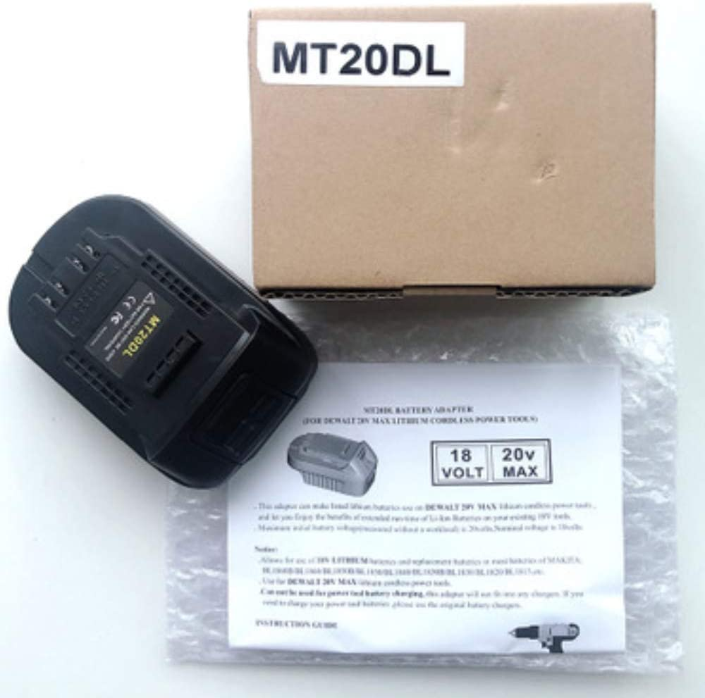 MT20BSL Li-Ion Akku Konverter Adapter für Makita 18V BL1830 BL1860 BL1850 B B1T9