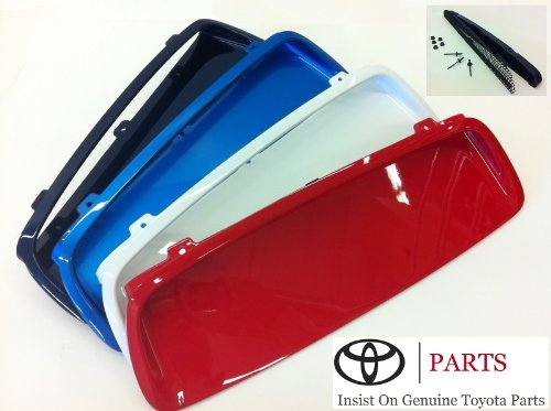 Genuine Toyota Tacoma Hood Scoop Insert Kit. Black Mica Color Code 209. 2005-2010 Tacoma.