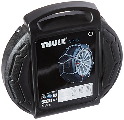 1988 1992 Audi 80 Auto (Thule 12mm CB12 Passenger Car Snow Chain, Size 060 (Sold in)