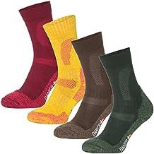 DANISH ENDURANCE Merino Wool Hiking Crew Socks for Trekking, Performance & Outdoor, Men & Women (3 or 1 Pairs)