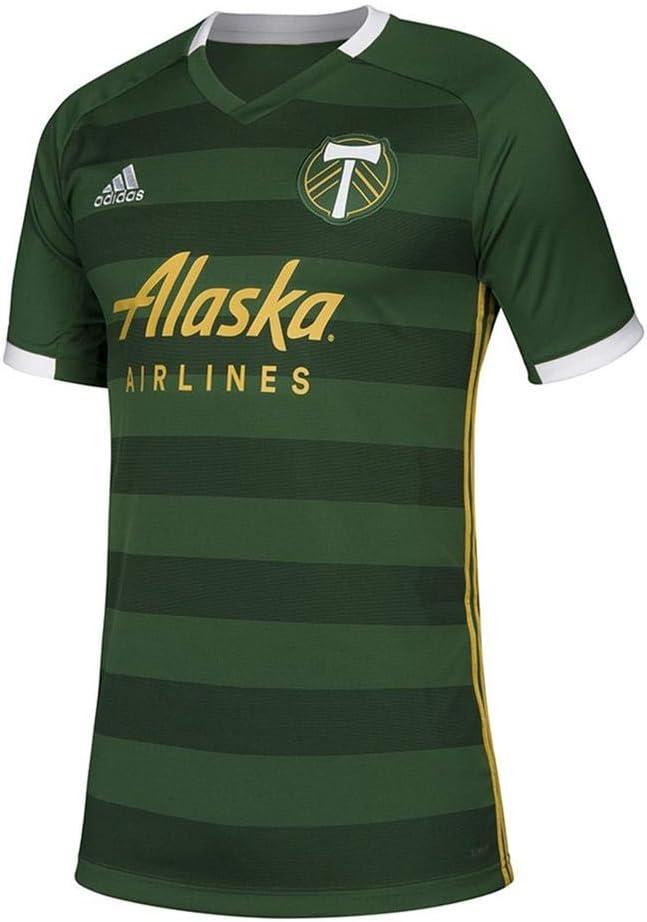 adidas Portland Timbers Home Jersey-Boy's Soccer