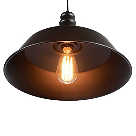 Mi Canarias Industrial de estilo rústico para colgar lámpara ...