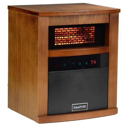 EdenPURE CopperHX Infrared Heater (Maple)