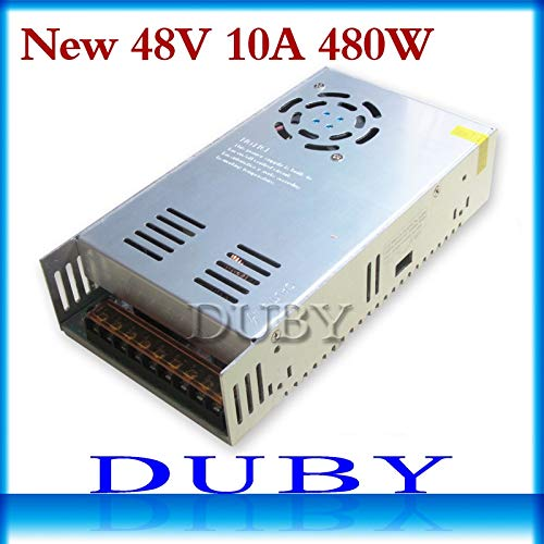 Power Inverter - New Model 48V 10A 480W Switching Power Supply Driver for LED Light Strip Display AC100-240V Factory Supplier