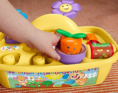 51 NBASjzpL - Fisher-Price Laugh & Learn Smart Stages Grow 'n Learn Garden Caddy (Amazon Exclusive)