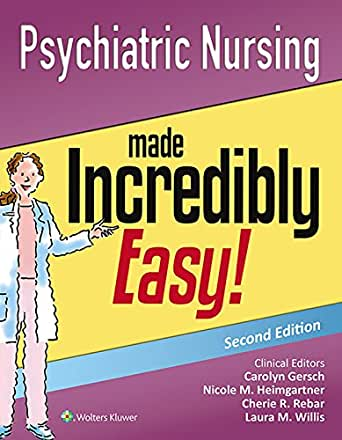 Psychiatric Nursing Made Incredibly Easy Includes Dsm 5