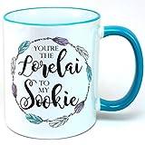 You're The Lorelai To My Sookie Mug, 11oz White Coffee Mug, Tea Mug, plus sticker