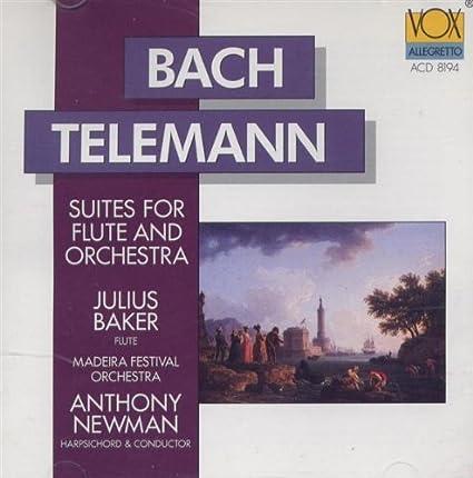 Bach & Telemann : Flute Suites