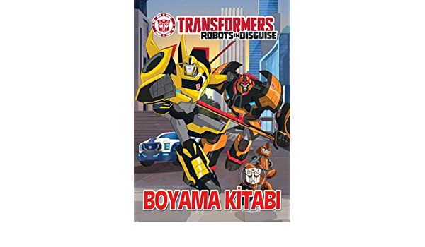 Transformers Boyama Kitabi Collective 9786050932577 Amazon