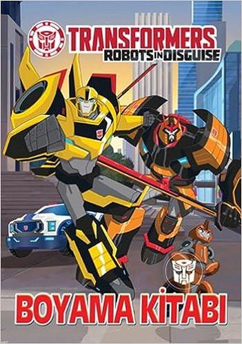 Transformers Boyama Kitabı 9786050932577 Amazoncom Books