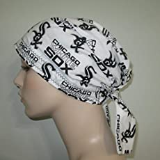 969a6a8a48fde Amazon.com  Scrub Cap NY Yankees Nurses Hat Chemo Hat  Handmade