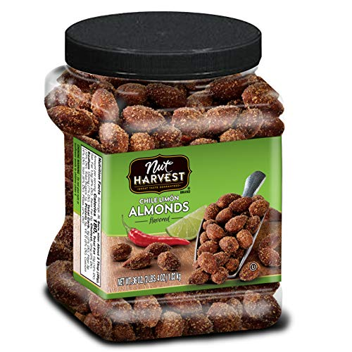 Nut Harvest Almonds, Chile Lime, 36 Ounce ()